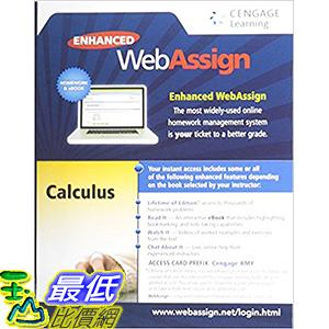 [106美國直購] 2017美國暢銷軟體 Enhanced WebAssign Printed Access Card Calculus Life of Edition, 1st Edition