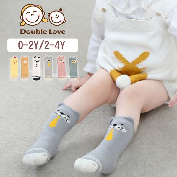 長襪 毛圈 保暖童襪 棉質 寶寶襪子 地板襪 卡通長襪 造型襪 嬰兒襪(0-2Y/2-4Y) 母嬰同室【JB0078】