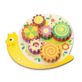 【美國Tender Leaf Toys】轉轉蝸牛齒輪板(感官啟蒙學習教具)