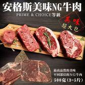 【海肉管家-全省免運】超大包安格斯NG牛排 x10包【500克±10%/包】
