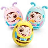 不倒翁玩具嬰兒3-6-9-12個月寶寶益智兒童小孩0-1歲大號不到翁8-7 399下殺 〖korea時尚記〗