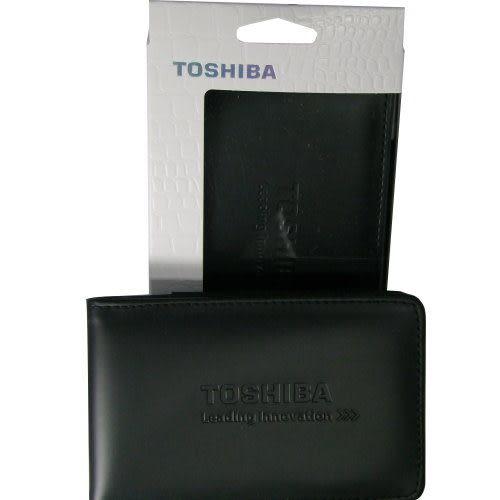 ◆免運費◆ TOSHIBA 2.5吋 經典款/皮革 外接式硬碟防震收納包-X1P ◆適一般2.5吋外接硬碟◆