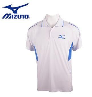 [搶便宜!下殺78折出清!] MIZUNO 美津濃 男 短袖POLO衫 零碼S號 32TA654801 (白X藍)  [陽光樂活]