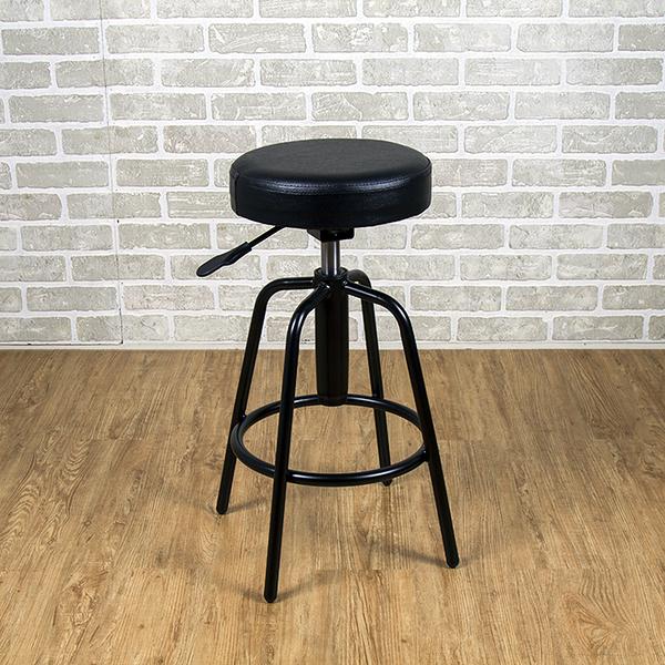 吧台椅/日式吧台椅/吧台桌椅/升降椅 (黑色) MIT台灣製【6817-BK】Tasteful 特斯屋