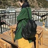真皮後背包-大容量黑色輕便休閒男女雙肩包73ym45【巴黎精品】