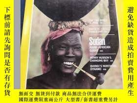 二手書博民逛書店罕見NATIONAL GEOGRAPHIC THE TWO SOULS OF PERU 1982 3 Mdst (
