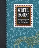 二手書博民逛書店 《Write Soon!》 R2Y ISBN:0838433898│Heinle & Heinle Pub