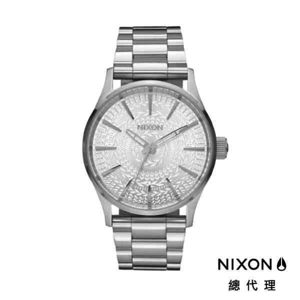 NIXON SENTRY 38 SS 極簡復刻 白銀復刻 潮人裝備 潮人態度 禮物首選 (圖騰限定版)