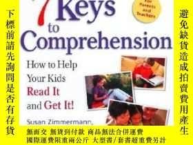 二手書博民逛書店7罕見Keys to Comprehension 英文原版 幫助