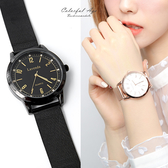 手錶 正韓Lavenda雙圈米蘭錶 柒彩年代【NEK37】單支