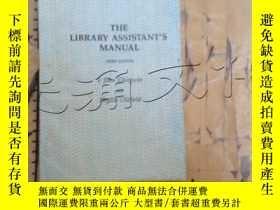 二手書博民逛書店The罕見Library Assistant s ManualY