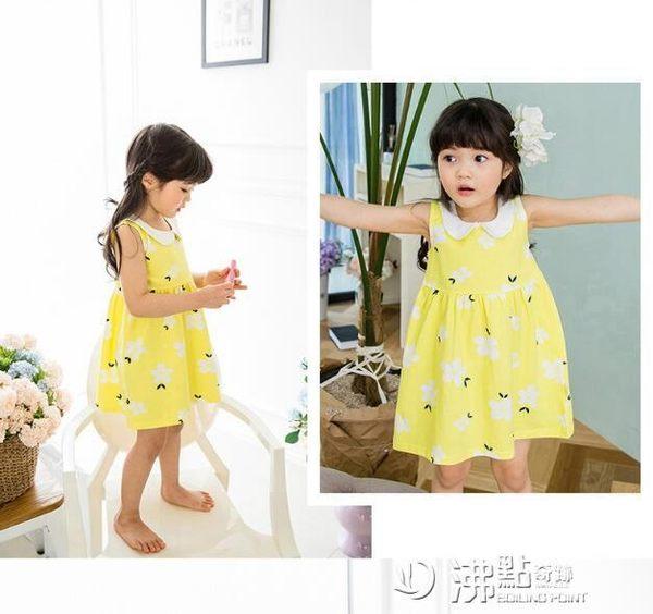 女童連身裙嬰幼兒0純棉洋氣公主裙3歲2女小寶寶1兒童裝裙子 沸點奇跡