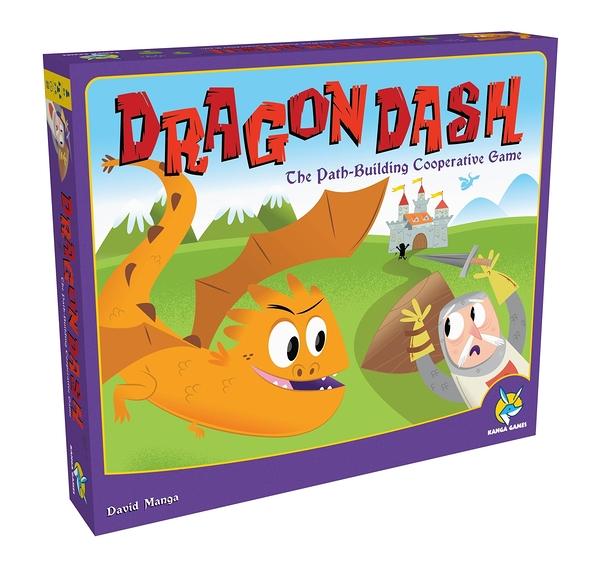 【KANGA GAMES】與龍共舞 Dragon Dash 家庭益智派對桌上遊戲