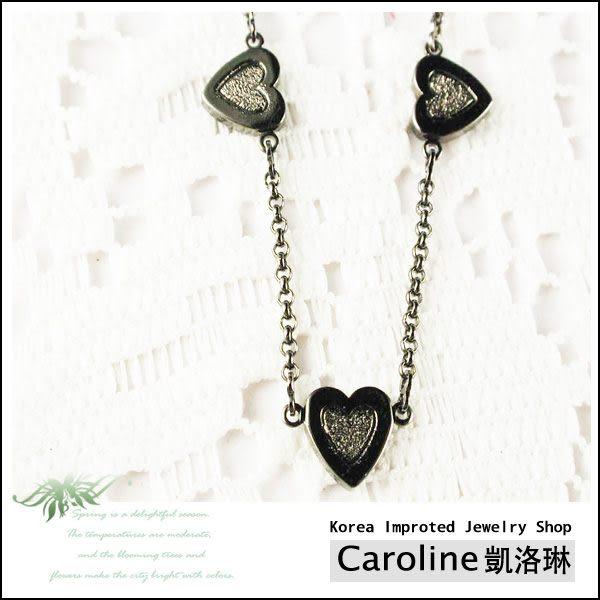 《Caroline》★韓國進口奧地利施華洛世奇水晶時尚項鍊19650