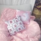 獨角獸抱枕被子兩用午睡折疊被三合一加厚空...