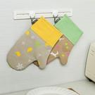 印花隔熱手套(單入售) 微波爐 烤箱 烘...
