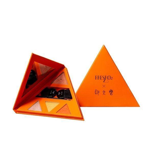 FreshO2x許允樂「我的獨特角度」彩妝盤-60° 的朝氣暖橘色 #402