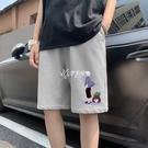 短褲男夏季潮流休閒五分褲男學生薄款寬鬆韓版中褲潮牌大碼沙灘褲