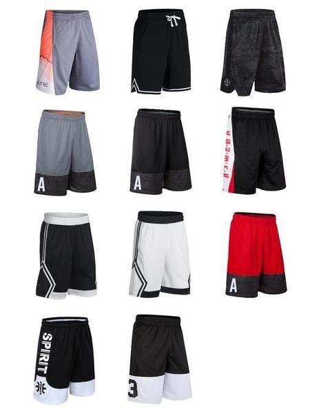 Elite精英籃球褲運動短褲男美國夢之隊熱身訓練褲跑步速幹五分褲  蘑菇街小屋