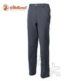 丹大戶外用品 荒野【Wildland】男彈性保暖休閒長褲 型號(3L) 0A62308-92 中灰色