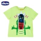 chicco-快樂夏天-立體鱷魚短袖上衣