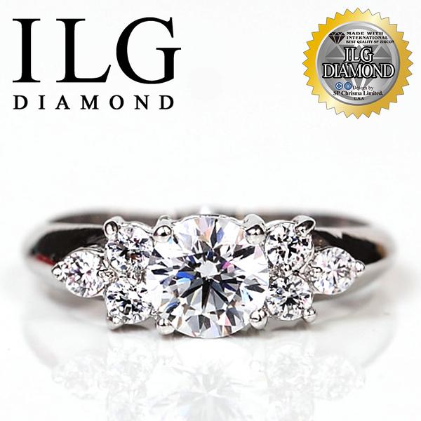 【驚艷閃耀,ILG鑽】頂級八心八箭鑽石戒指-經典愛情款 主鑽約75分 令人難忘的迷人光彩 RI018