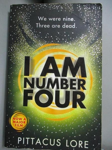 【書寶二手書T1/原文小說_OPK】I Am Number Four : (Lorien Legacies Book 1)_Pittacus Lore