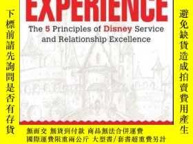 二手書博民逛書店The罕見Experience: The 5 Principles of Disney Service and R