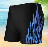 專業運動男士速乾透氣加大碼平角泳褲PLL3168【男人與流行】