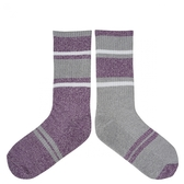【TwinSocks】 不對稱舒適中筒襪(中性款23-26cm)