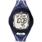 Speedo 時空跳躍電子腕錶-藍