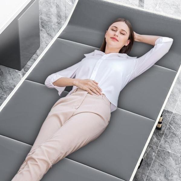 折疊躺椅 折疊床單人午睡辦公室午休躺椅家用成人簡易便攜行軍床多功能TW【快速出貨八折下殺】