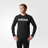Adidas SA LS TEE LNR [CF4967] 男款 運動 休閒 棉質 長袖 上衣 大學T 愛迪達 黑