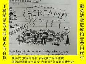 二手書博民逛書店DIARY罕見of a wimpy kid THE UGLY TRUTH:一個懦弱的孩子的日記醜陋的真相Y20