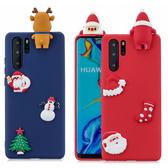 三星 Note10 Note10+ S10 S10+ S10e 聖誕系列 立體娃偶 手機殼 全包邊 矽膠 軟殼 保護殼