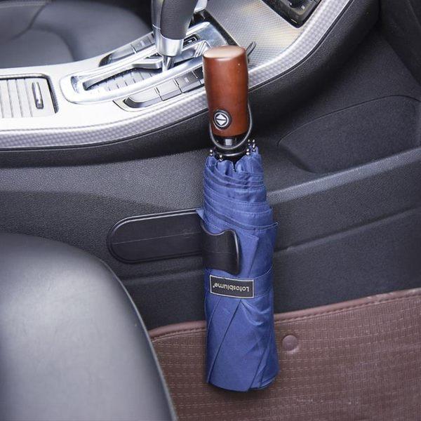 [超豐國際]粘貼式汽車雨傘固定架車載用品多功能車內小掛鉤掛架置物架