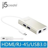 j5 JCA374 USB Type-C 多功能擴充卡
