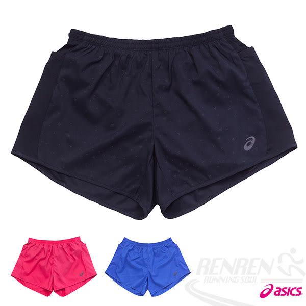 ASICS亞瑟士 LITE-SHOW 女慢跑短褲(黑) 反光設計