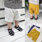 七夕全館85折 童裝嬰兒夏裝1-2-3歲男童中褲寶短褲休閒褲