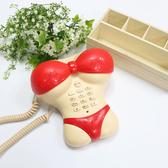 ☆小時候創意屋☆ 比基尼 電話 家用電話 造型電話 聖誕節禮物 創意小物 擺飾 家飾