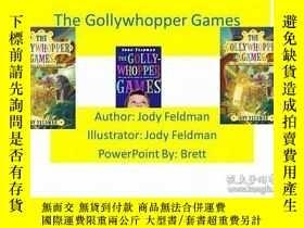 二手書博民逛書店The罕見Gollywhopper Games 兒童文學 [Ag