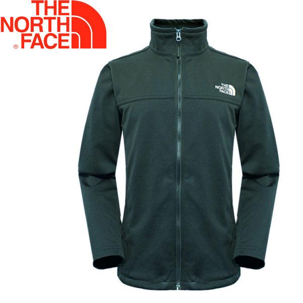 【The North Face 美國 男款 防風外套《墨綠》】366J/防潑水/超輕量/保暖★滿額送