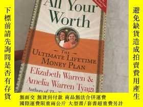 二手書博民逛書店All罕見Your Worth:THE ULTIMATE LIF