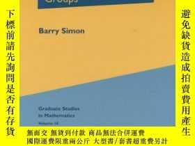 二手書博民逛書店Representations罕見Of Finite And Compact Groups-有限群與緊群的表示