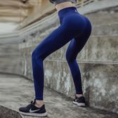 高腰高彈健身長褲女運動九分跑步速干褲瑜伽普拉提緊身壓縮打底褲【無趣工社】