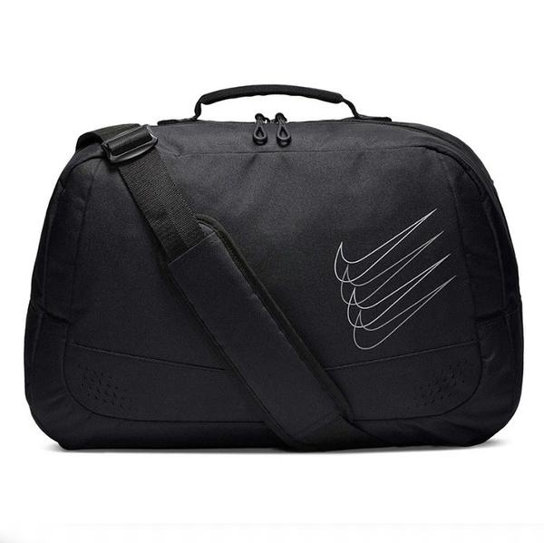 NIKE RUN MINIMAL 黑色 運動提袋 單肩包 單車包 郵差包 (布魯克林) CN0211-072