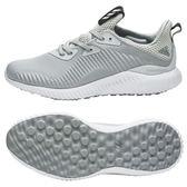 Adidas alphabounce 1 男 灰 白 愛迪達慢跑鞋 路跑鞋 運動鞋 BW0541