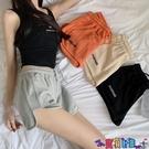 運動短褲 運動短褲女新款潮韓版寬鬆休閒學生高腰闊腿百搭家居瑜伽熱褲 寶貝計畫 618狂歡