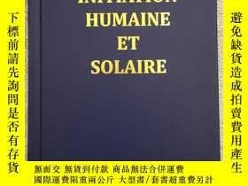 二手書博民逛書店Initiation罕見Humaine et SolaireY1