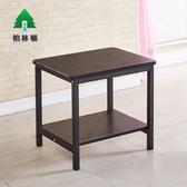 創意沙發邊桌邊幾角幾黑色床頭桌雙層收納長條桌簡易小茶幾小桌子